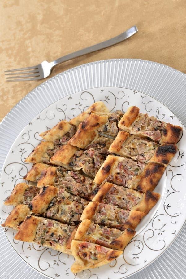 Turkish Pizza Stock Photography