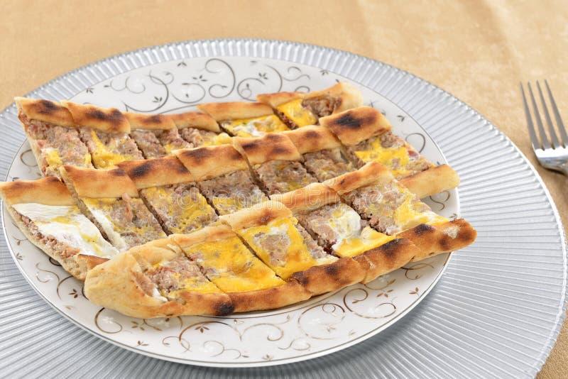 Turkish Pizza Royalty Free Stock Image