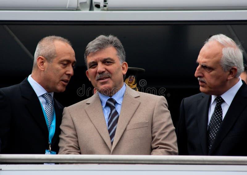 Turkish President stock photo