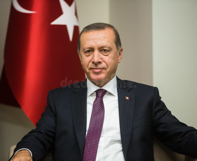Turkish President Recep Tayyip Erdogan stock images
