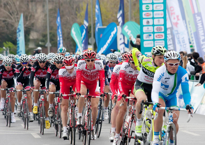 Turkish Presidential Cycling Tour royalty free stock image