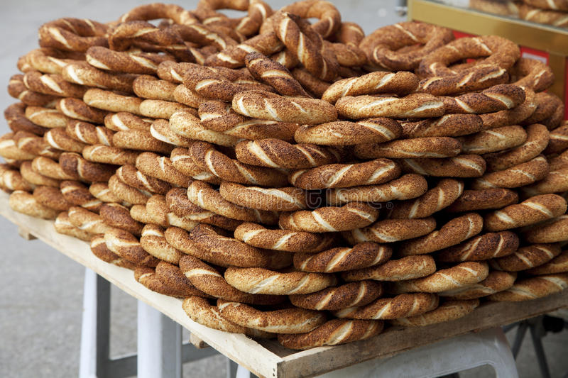 Download Turkish pretzels stock photo. Image of cooked, crunchy - 27362842