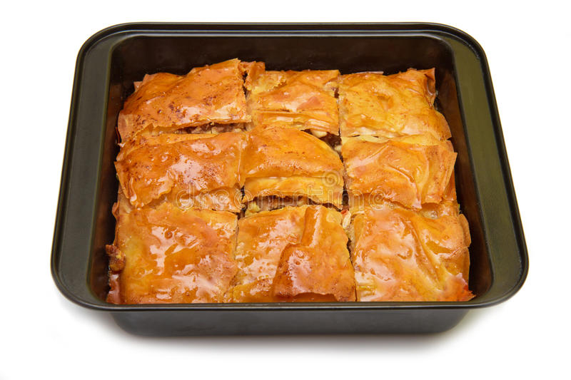 Turkish Ramadan Dessert Baklava. A Turkish Ramadan Dessert Baklava royalty free stock images