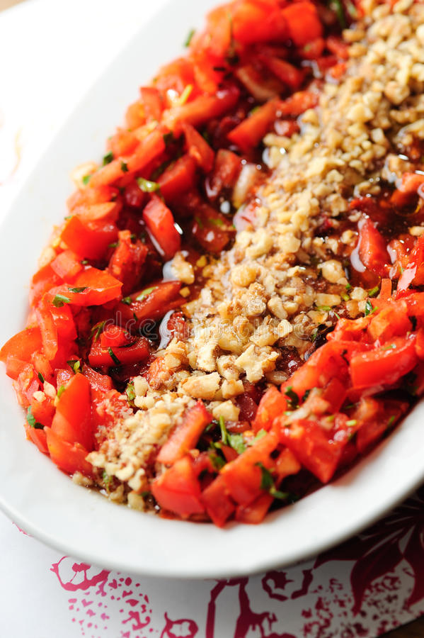 Download Turkish salad stock photo. Image of turkish, walnut, traditional - 26829912