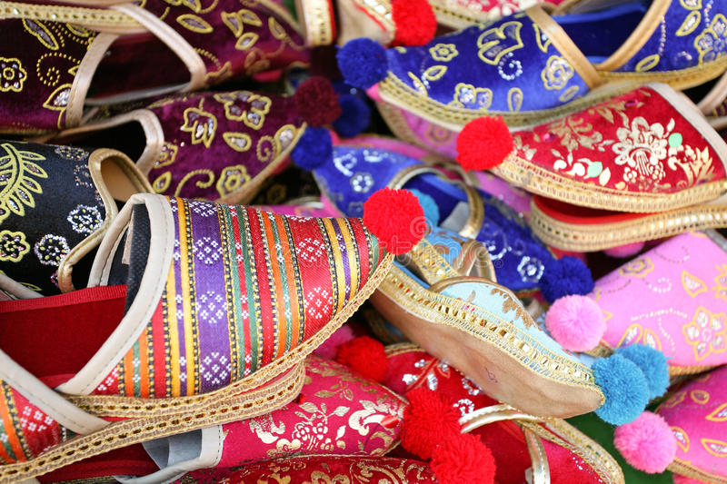 Turkish Slippers Royalty Free Stock Photos