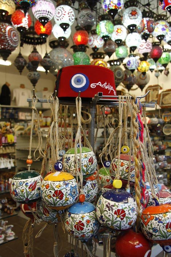 Turkish Souvenirs Stock Images