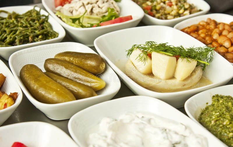Turkish Starters Stock Images