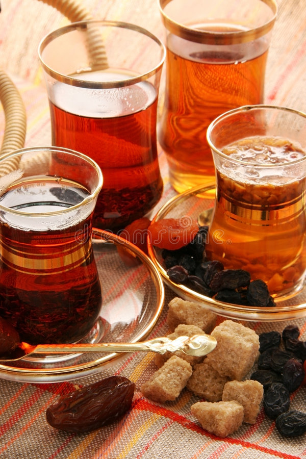 Free Turkish Tea. Royalty Free Stock Image - 1828346
