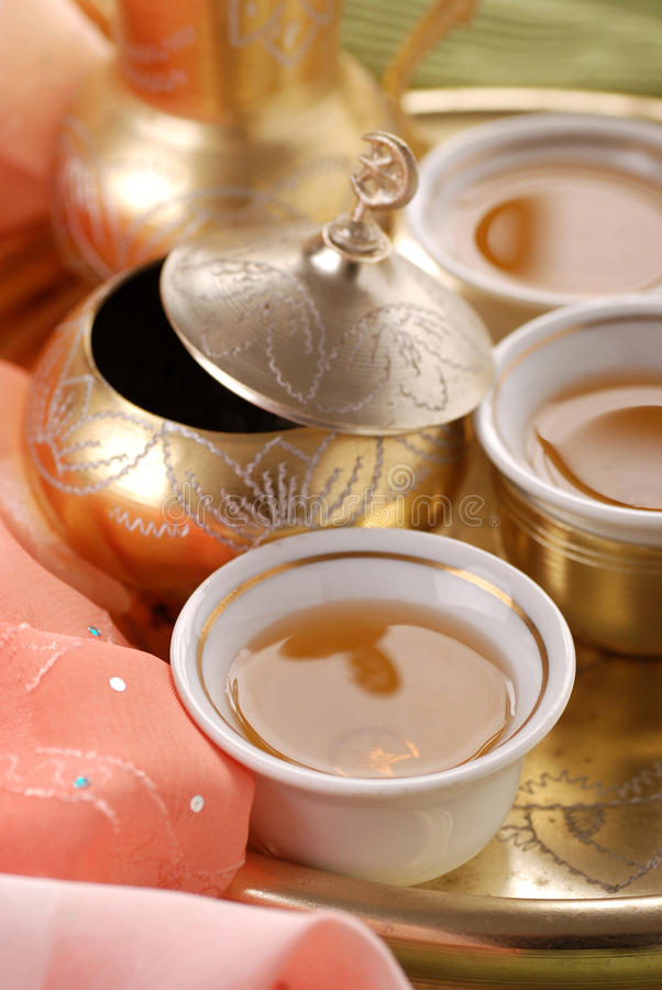 Download Turkish tea stock image. Image of background, cups, still - 24610267