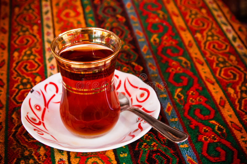 Turkish tea royalty free stock images