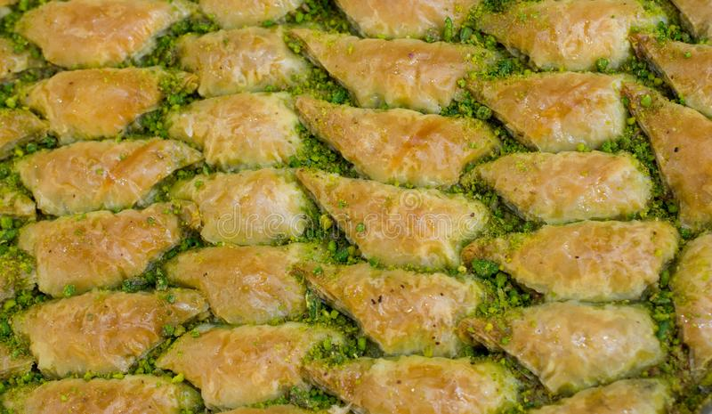 Turkish traditional national tasty desserts Baklava stock photography