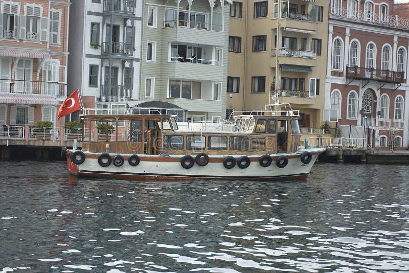 Turkish view on Bosporus stock photos