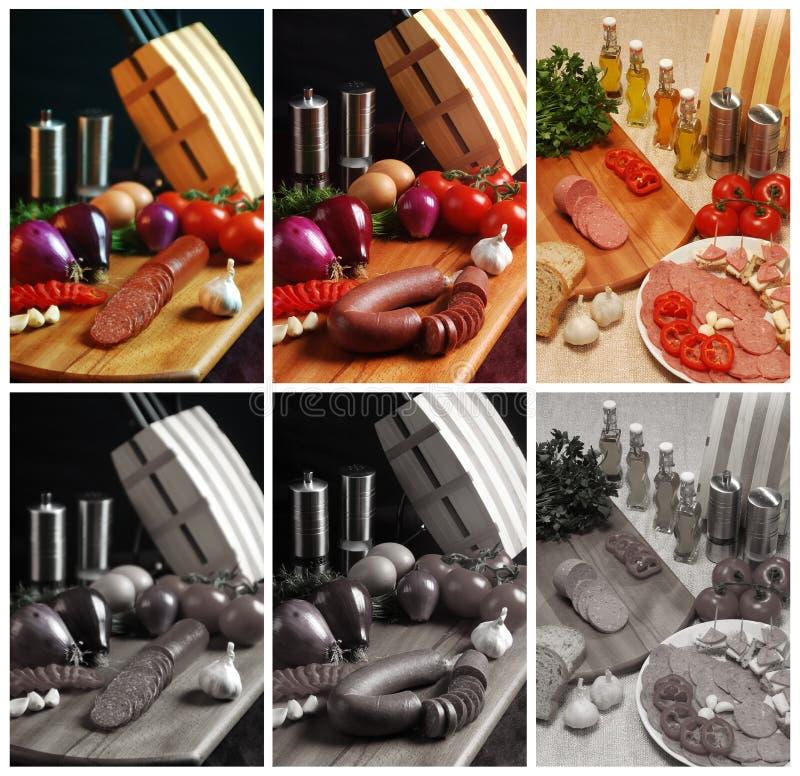 Turkish Wurst And Salami Stock Image