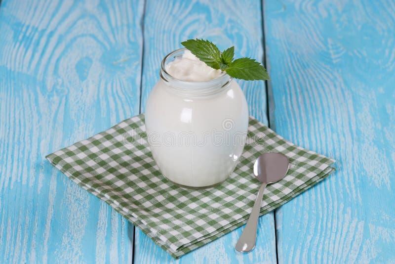Turkish yogurt yogurt. royalty free stock photos