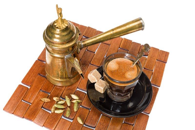 Turkisk coffe arkivfoto