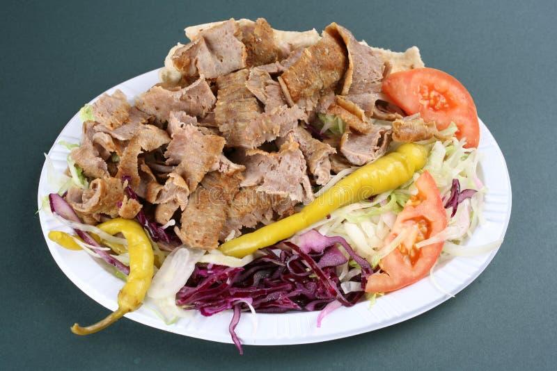 turkisk kebab стоковое изображение