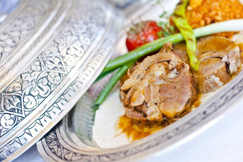 Turkisk kokkonst arkivfoton