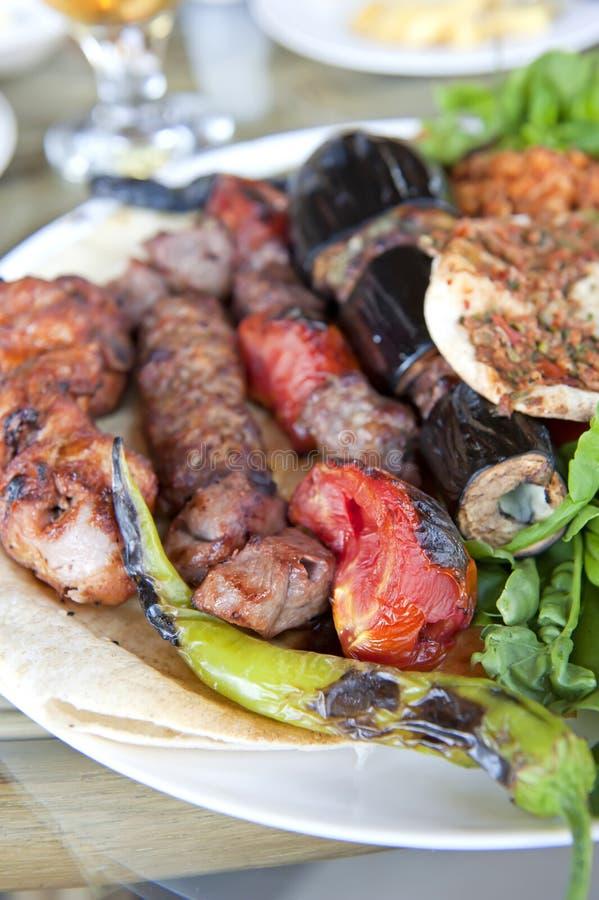 Turkisk mat royaltyfria bilder