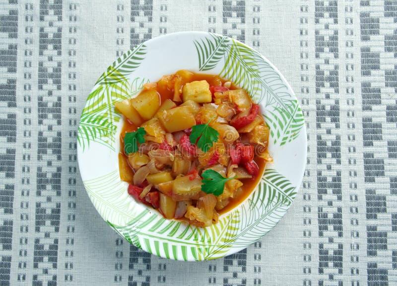 Turkisk maträtt av grönsaker fotografering för bildbyråer