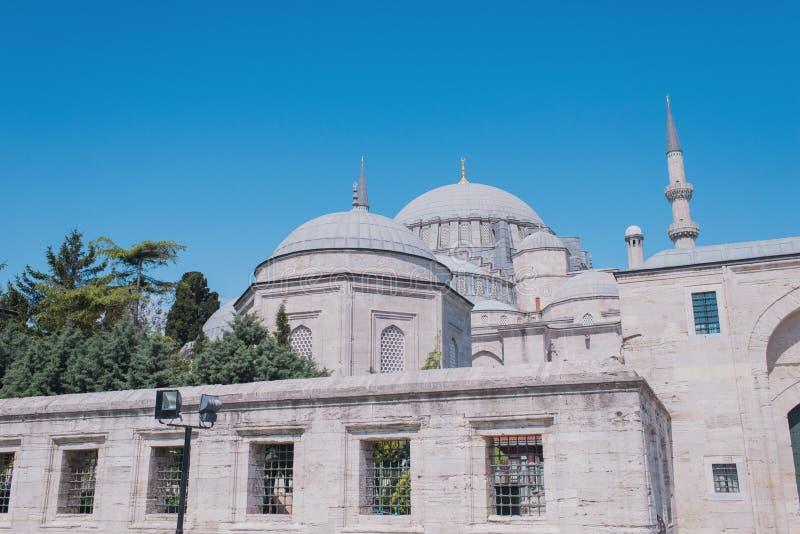Turkisk moskékupol arkivbild