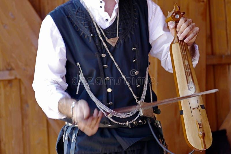 Download Turkisk sångare fotografering för bildbyråer. Bild av instrument - 76701471