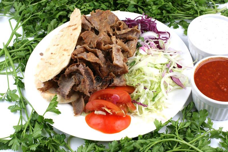 Download Turkisk shish kebab stock image. Image of takeaway, cabbage - 6058125