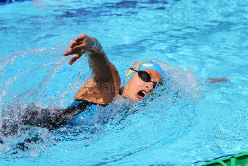 Turkisk simningmästerskap royaltyfria bilder