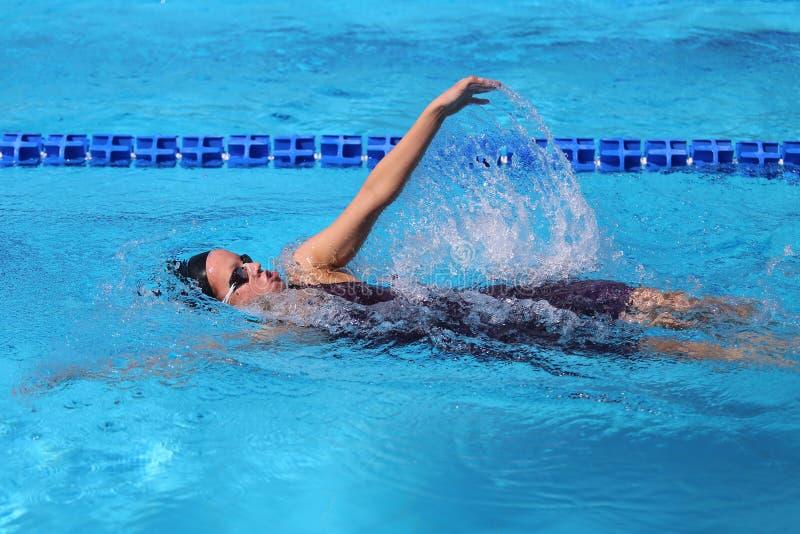 Turkisk simningmästerskap arkivbilder