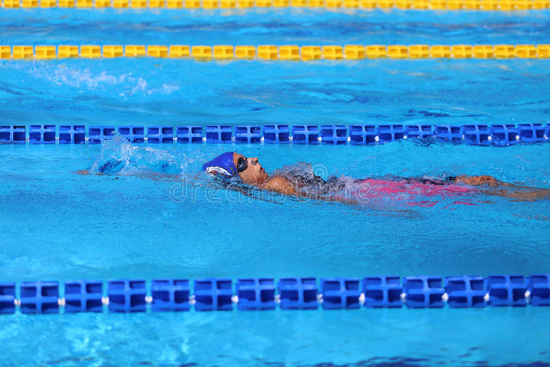 Turkisk simningmästerskap royaltyfria foton