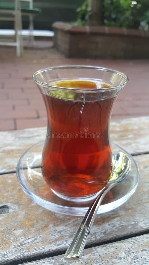 Turkisk tea royaltyfria bilder