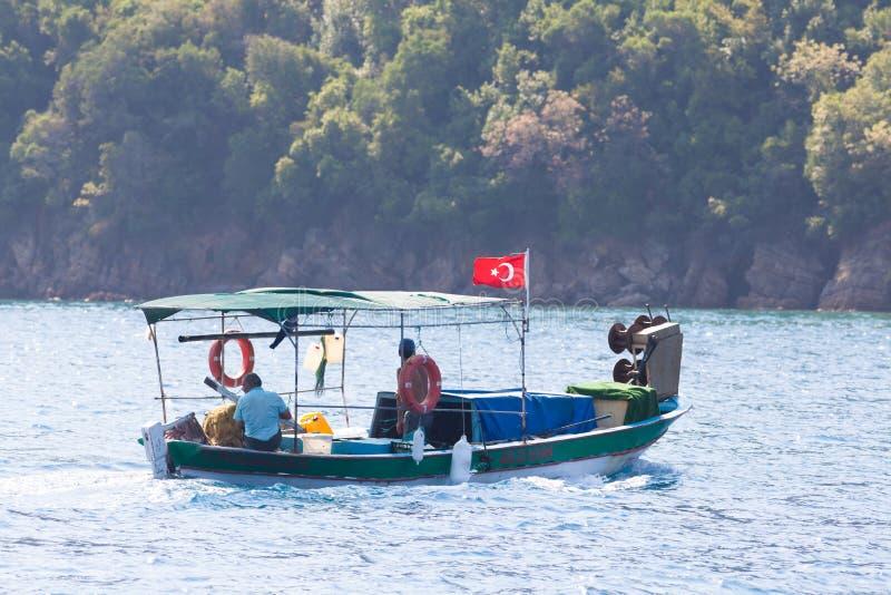 Turkiska fiskare arkivfoto