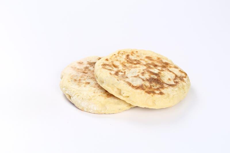 Turkiskt bröd Bazlama royaltyfria foton