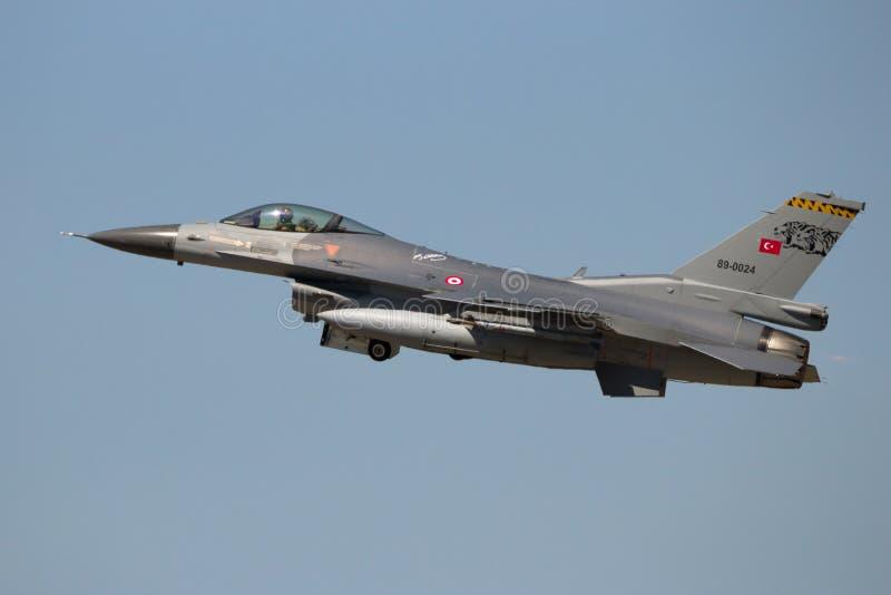 Turkiskt flygvapen royaltyfri foto