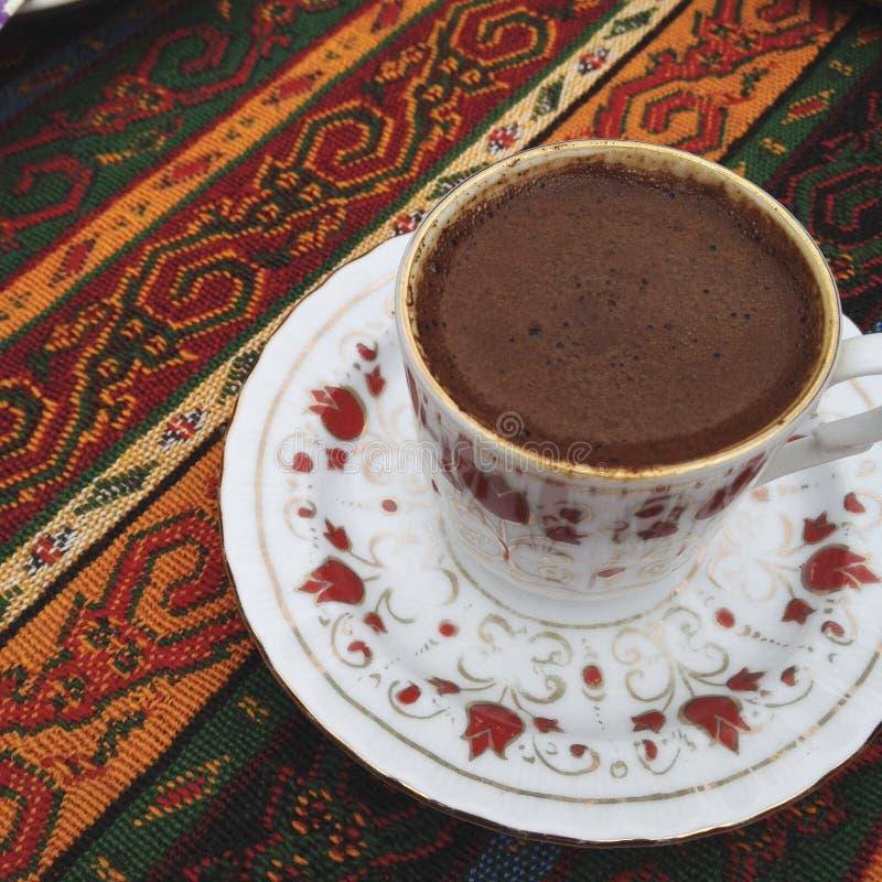 Turkiskt kaffe royaltyfria foton