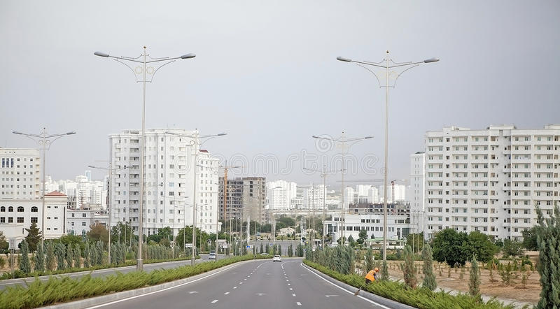 Turkmenistan stock afbeelding