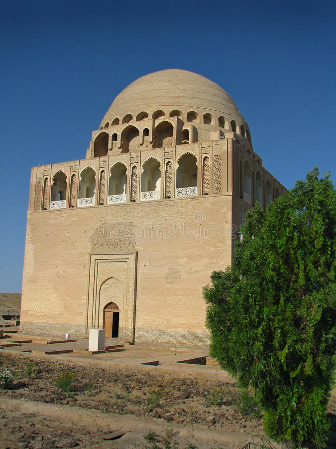 Turkmenistan - Merv, mosquée de Sandjar de sultan photos libres de droits