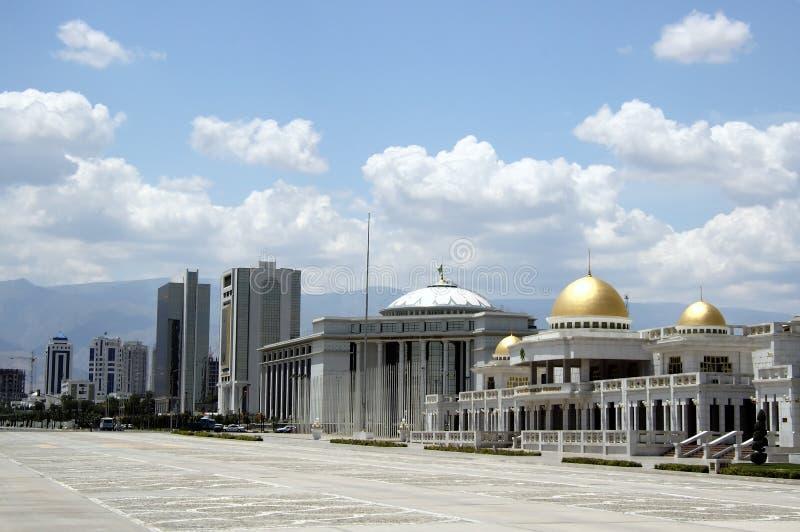 Turkmenistan overheidsonderneming royalty-vrije stock foto's