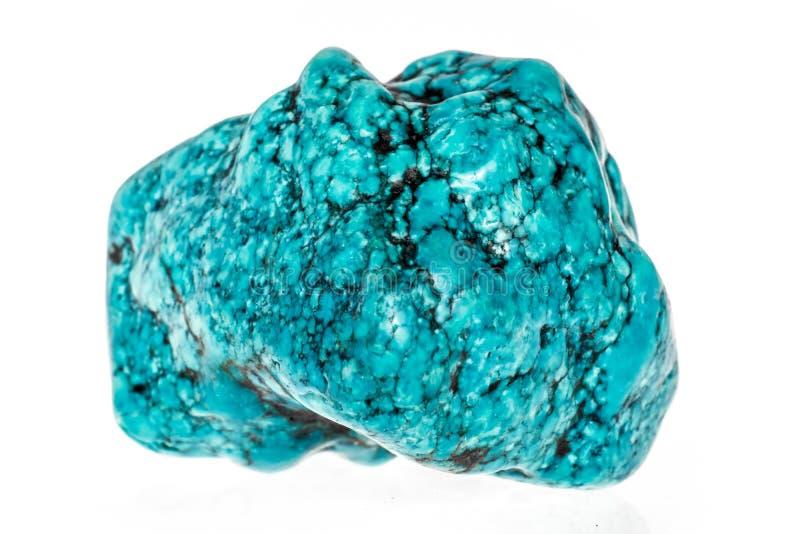 Turkooise steen stock fotografie