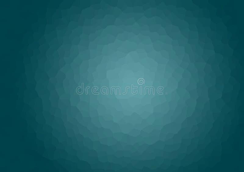Turkos crystalized texturerad bakgrundstapet stock illustrationer