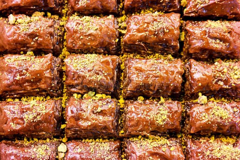 Turks dessert stock foto