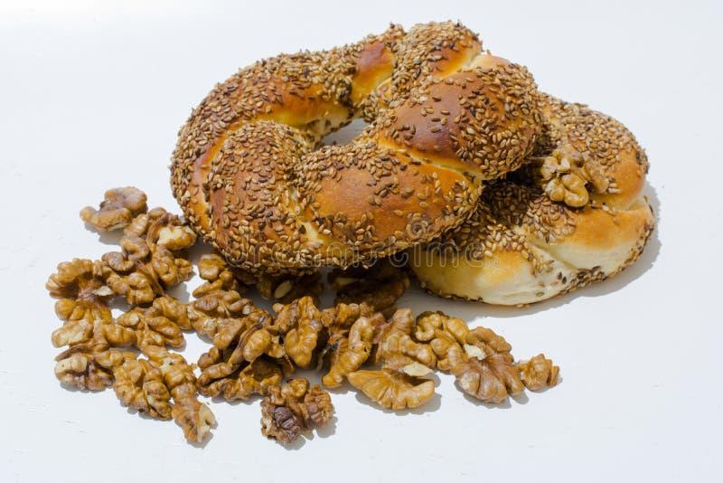Download Turks ongezuurd broodje stock afbeelding. Afbeelding bestaande uit ring - 107701635