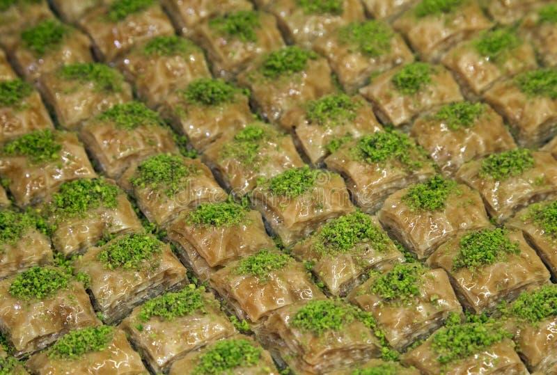 Turks Ramadan Dessert Baklava royalty-vrije stock fotografie