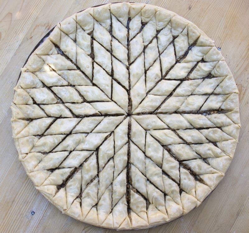 Turks Ramadan Dessert Baklava royalty-vrije stock afbeelding