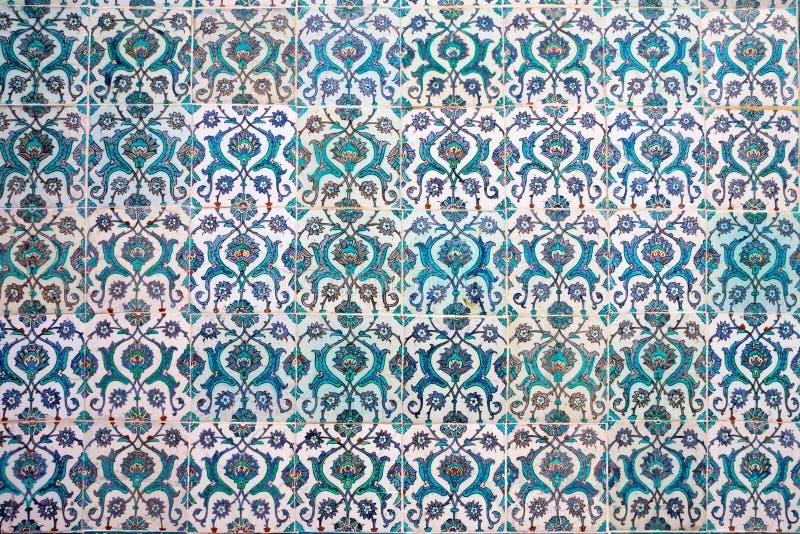 Turkse Keramische tegels royalty-vrije stock afbeelding