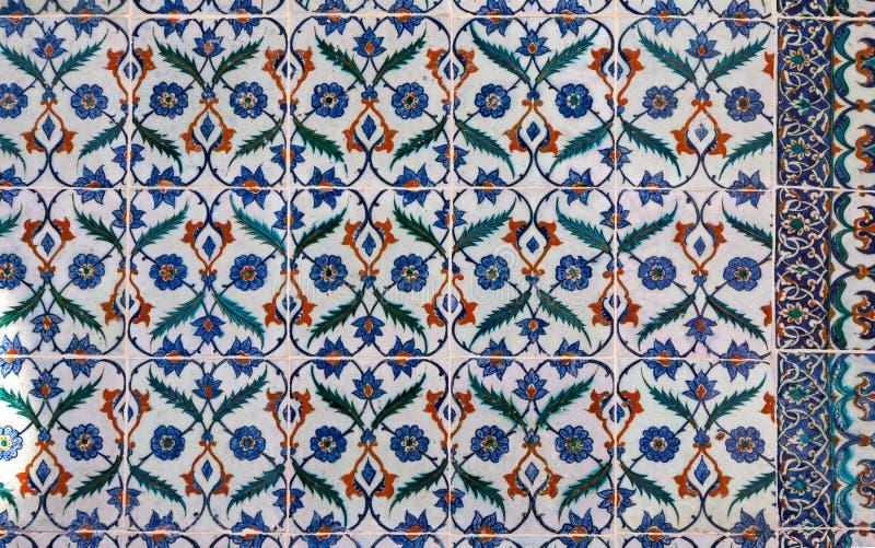 Turkse Keramische tegels stock fotografie