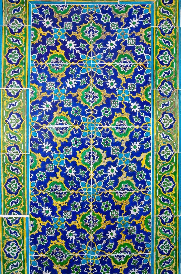 Turkse Keramische tegels royalty-vrije stock foto