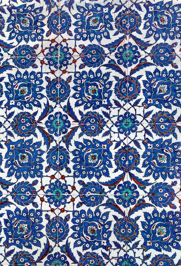 Turkse keramische tegels, Istanboel stock fotografie