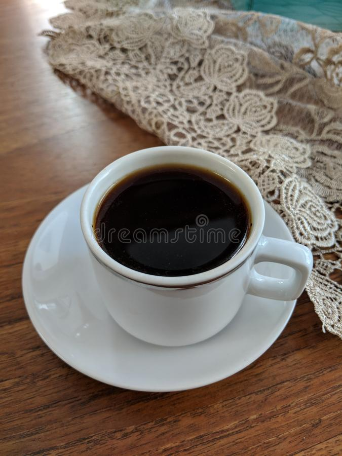 Turkse koffiekop royalty-vrije stock afbeeldingen