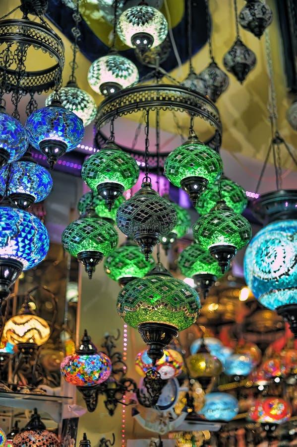 Turkse lantaarns royalty-vrije stock foto