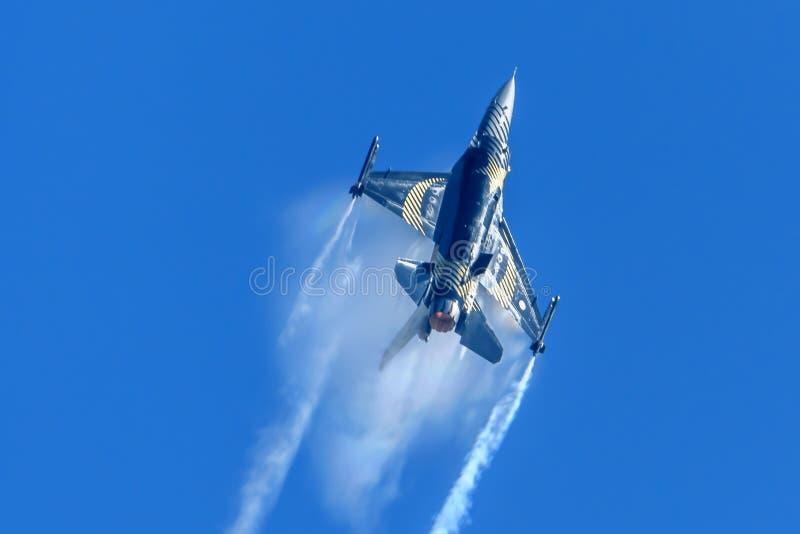 Turkse Luchtmacht F-16C royalty-vrije stock foto's